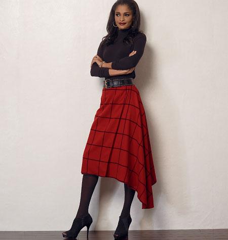 Vogue Patterns Misses' Skirt 8956