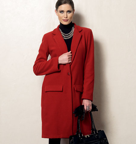 Vogue Patterns Misses' Coat 8960