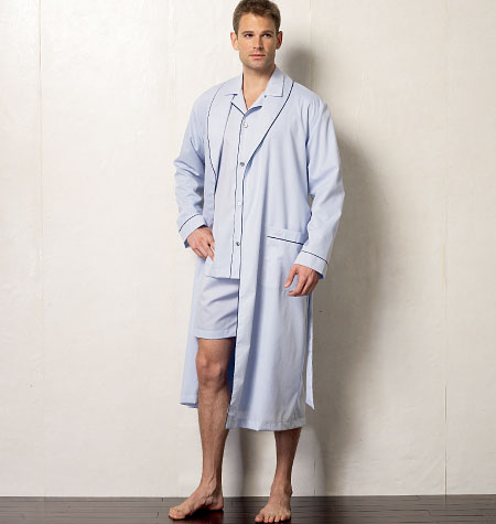 Vogue Patterns Men's Robe, Top, Shorts and Pants 8964
