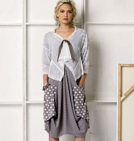 Vogue Patterns Misses' Dress and Jacket 8975