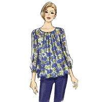 Vogue 8977 Pattern ( Size XSM-SML-MED )