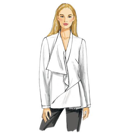 Vogue Patterns Misses' Tunic and Belt 8979