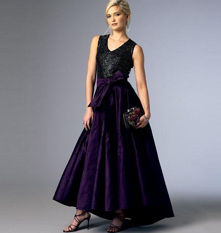 Vogue Patterns Misses' Skirt 8980