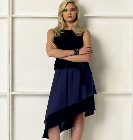 Vogue Patterns Misses' Skirt 8981