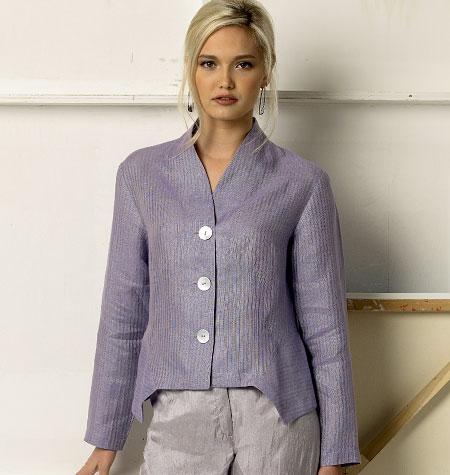 Vogue Patterns Misses' Jacket and Vest 8982