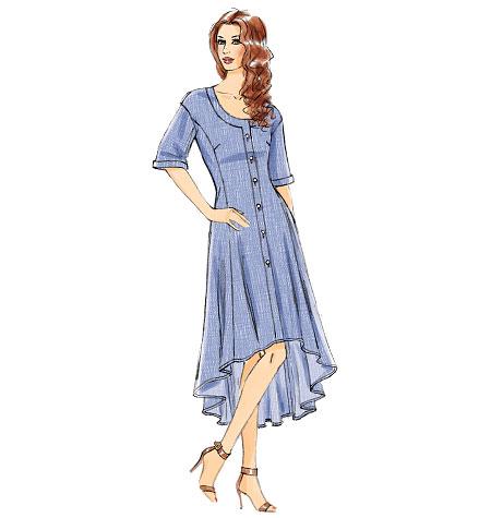 Vogue Patterns Misses' Tunic, Dress and Pants 8983