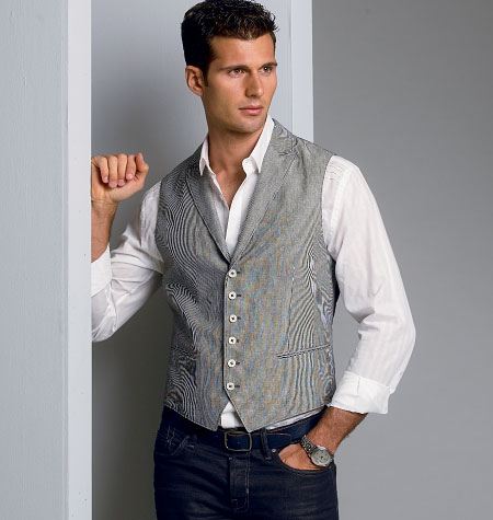 Vogue Patterns Men's Vest 8987