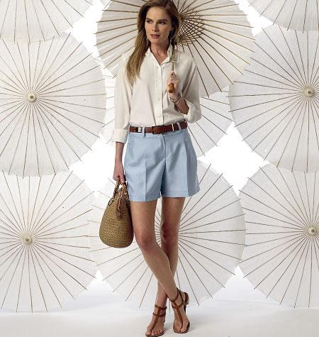 Vogue Patterns Misses' Shorts 9008