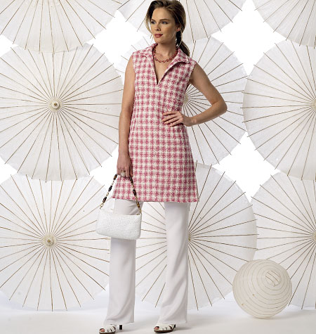 Vogue Patterns Misses' Tunic and Pants 9010