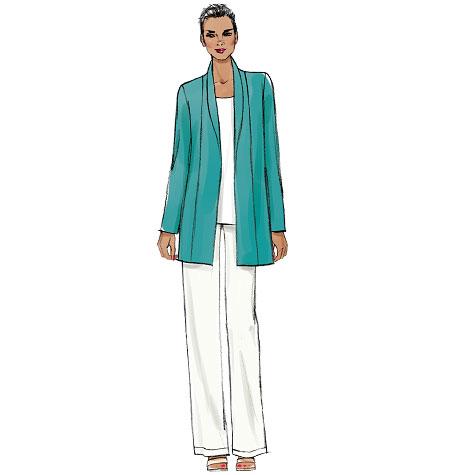 Vogue Patterns Misses' Jacket, Shorts and Pants 9011