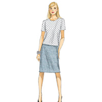Vogue 9014 Pattern ( Size 14-16-18-20-22 )