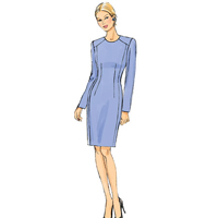 Vogue 9019 Pattern ( Size 14-16-18-20-22 )