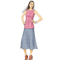 Vogue 9020 Pattern ( Size 6-8-10-12-14 )
