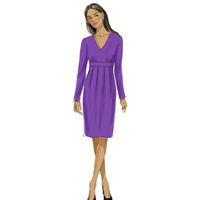 Vogue 9023 Pattern ( Size 8-10-12-14-16 )