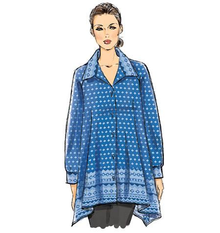 Vogue Patterns Misses' Tunic 9027