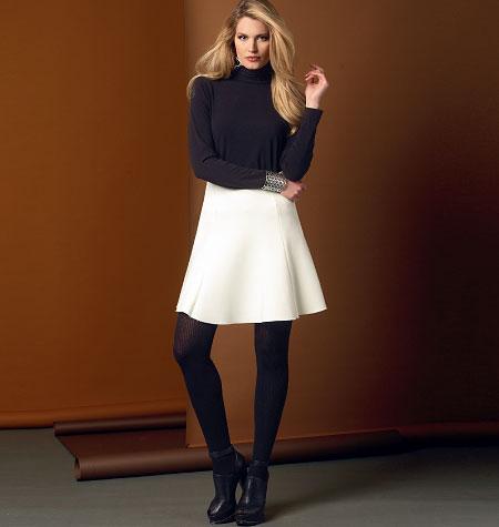 Vogue Patterns Misses' Skirt 9030