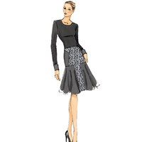 Vogue 9031 Pattern ( Size 14-16-18-20-22 )