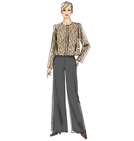 Vogue Patterns Misses' Jacket and Pants 9033