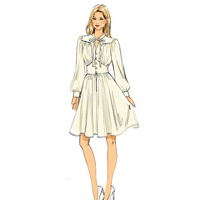 Vogue 9076 Pattern ( Size 14-16-18-20-22 )