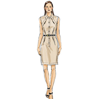 Vogue 9077 Pattern ( Size 14-16-18-20-22 )