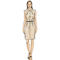 Vogue 9077 Pattern ( Size 6-8-10-12-14 )