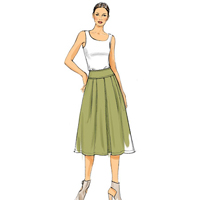 Vogue 9090 Pattern ( Size 6-8-10-12-14 )