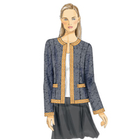 Vogue 9095 Pattern ( Size 6-8-10-12-14 )