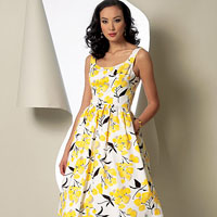 Vogue 9100 Pattern ( Size 6-8-10-12-14 )