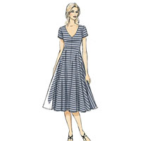 Vogue 9101 Pattern ( Size 6-8-10-12-14 )