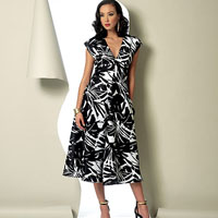 Vogue 9103 Pattern ( Size 6-8-10-12-14 )