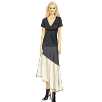 Vogue 9113 Pattern ( Size 6-8-10-12-14 )