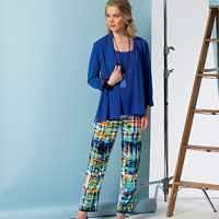 Vogue 9117 Pattern ( Size 6-8-10-12-14 )