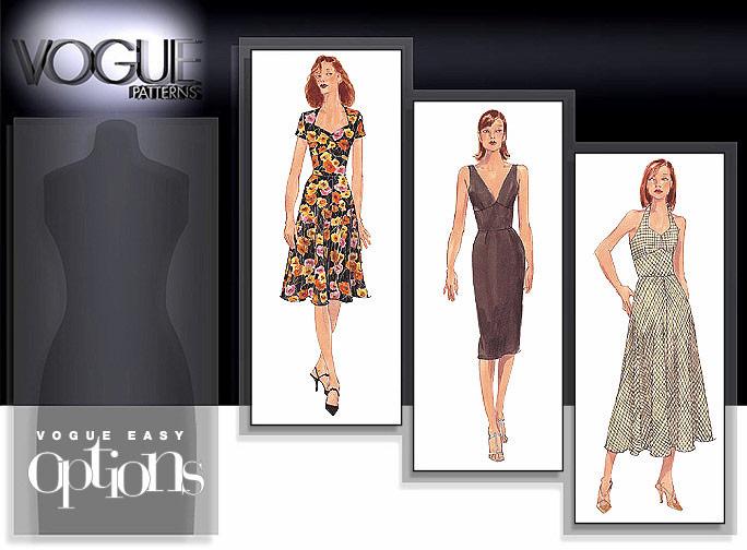 Vogue Patterns Misses & Misses Petite Dress 9668