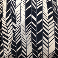 Chevron Vertical Stripe ITY Knit 2 Yards
