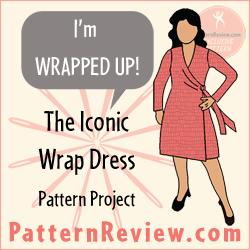 The PR Wrap Dress project