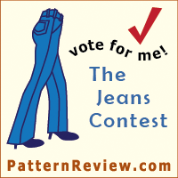 Vote for me in the PatternReview.com Jeans Contest