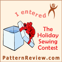 2013 Holiday Sewing (November 15 - December 31)