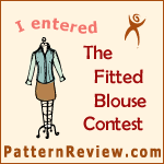 2014 Fitted Blouse - Skill Level Twist