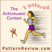 Patternreview 2016 activewear contest badge