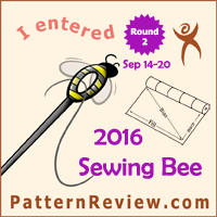 Sewing Bee 2016 - Round 2