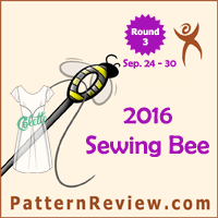 Sewing Bee 2016 - Round 3