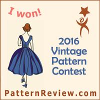 2016 Vintage Pattern Contest