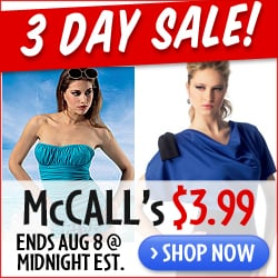 McCall's Sale $3.99