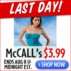 McCall's $3.99 Summer Sale