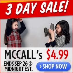 McCall's Sale $4.99