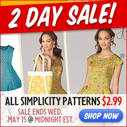 simplicity sale