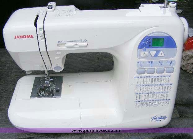 janome 8080 harmony sewing machine