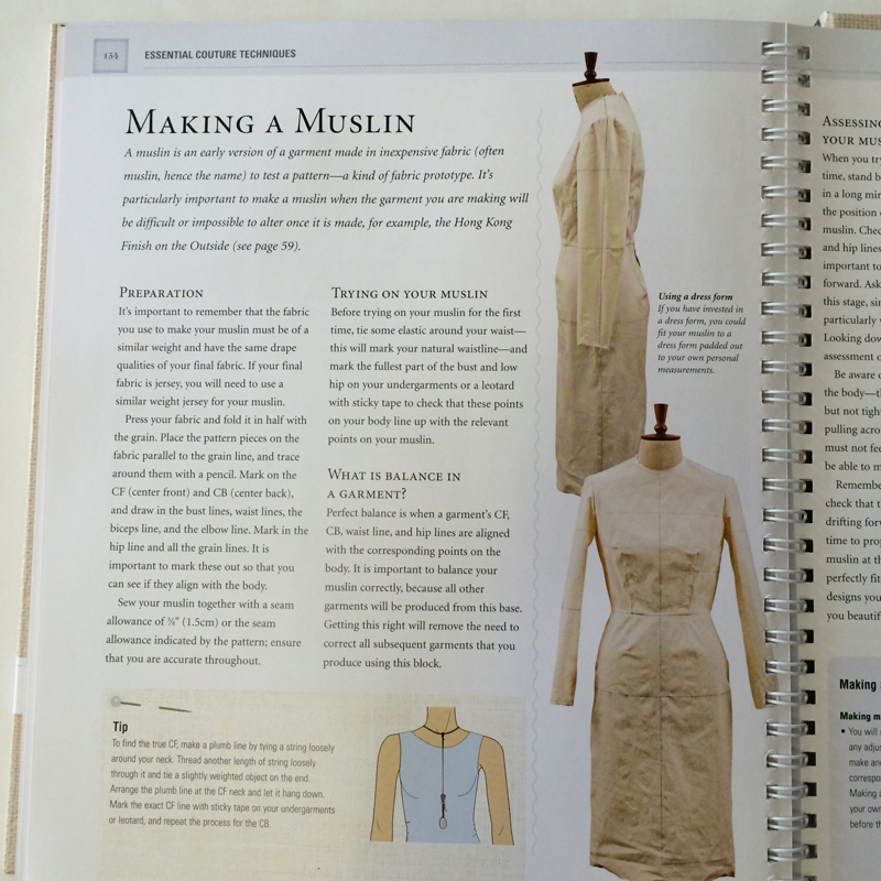 Couture Sewing Techniques by Lynda Maynard - Book Review &amp ...