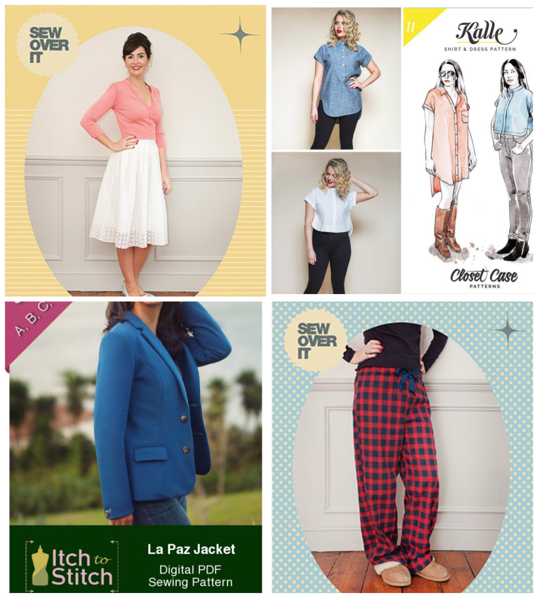 New Indie Patterns - April Edition 4/20/17 - PatternReview.com Blog