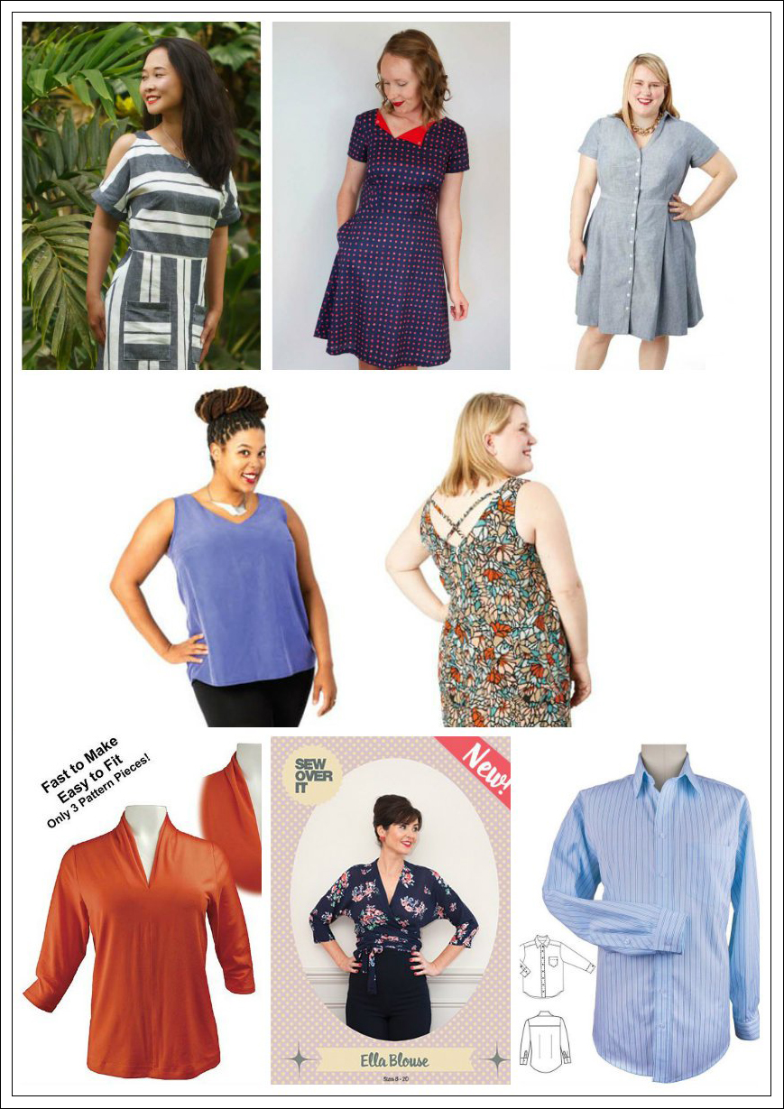 New Indie Patterns - June Edition - Giveaway 6/14/17 - PatternReview ...